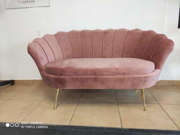 Sofa Muszelka stylowa kanapa do salonu