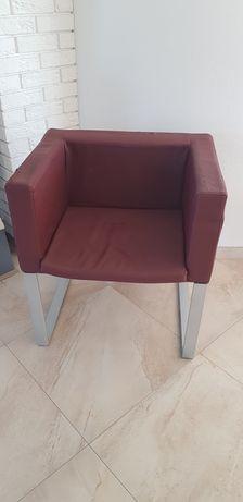Skórzany fotel do zmiany tapicerki