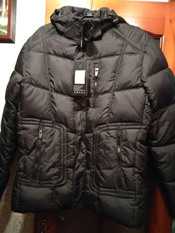 Очень теплая зимняя куртка 50-52р