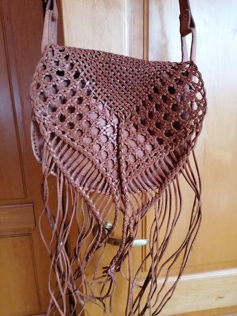 Piękna skórzana torba