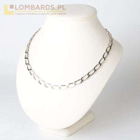 srebrny łańcuszek p. 925 r. 50cm