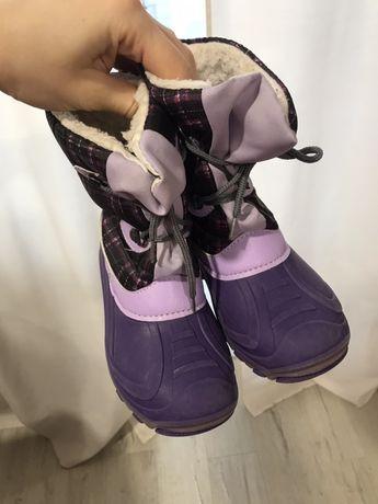 Зимние ботинки 28 р