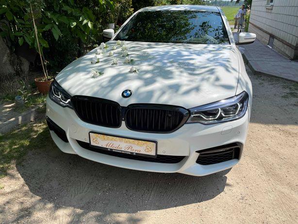 Auto do ślubu BMW 5 G30 M-pakiet Wolne terminy tanio!!