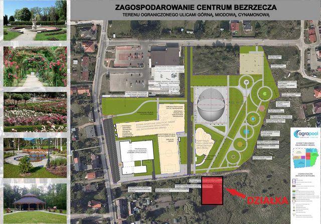 Działka budowlana Bezrzecze. Atrakcyjna lokalizacja!
