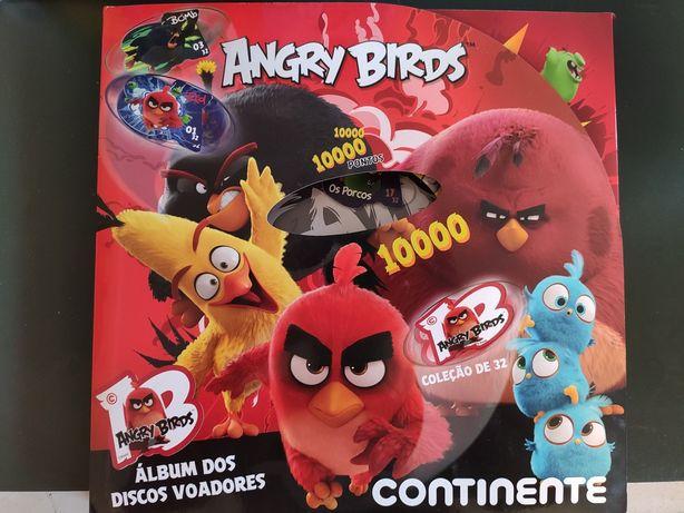 Caderneta Angry Birds Completa