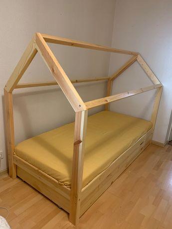 Дитяче ліжко з матрасом Б/У! Самовивіз!