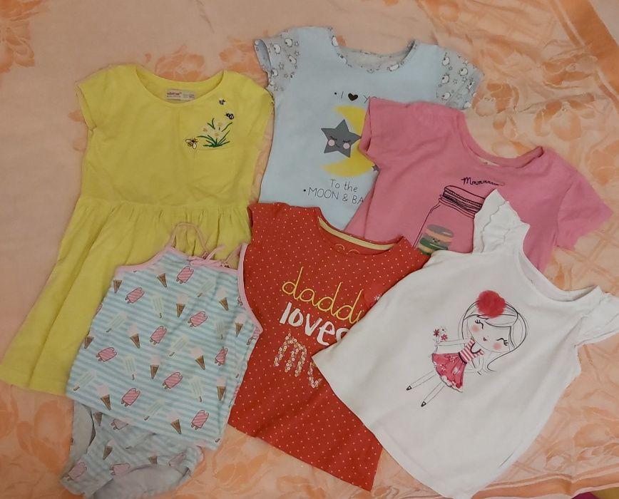 Лот #2 вещи для девочки футболка Gymboree Mothercare пижама 3-4 год Днепр - изображение 1