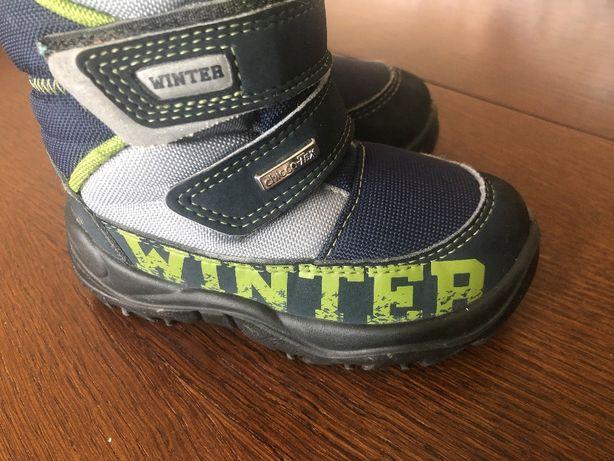 Зимові чоботи Chicco, ChiccoTex, 21 розмір, устілка 13,5 см Італія