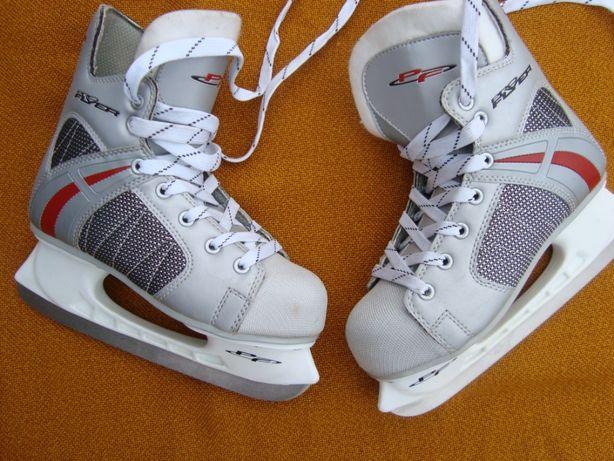 łyżwy hokejowe Pro Flayers roz 38 - 24.5 cm-Super Nowe Canada