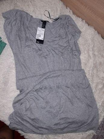 Легкое платье фирменное h&m для кормящих