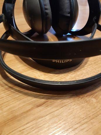 Słuchawki bezprzewodowe Philips SBC HC202 na poczerwień