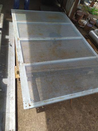 Перфорированная Панель 2,5Х1,1 м. 2,5Х1,5 м. Ограждение Забор секци