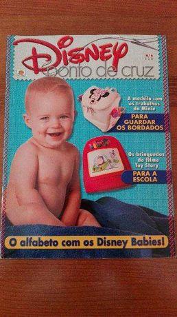 Ponto de Cruz - Disney (revista nº6)