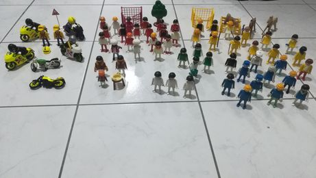 Playmobil 1974 bonecos variadas cores
