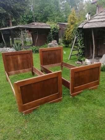 Łóżko drewniane cena za 2 szt.