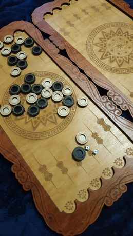 Нарды ручной работы деревянные продам