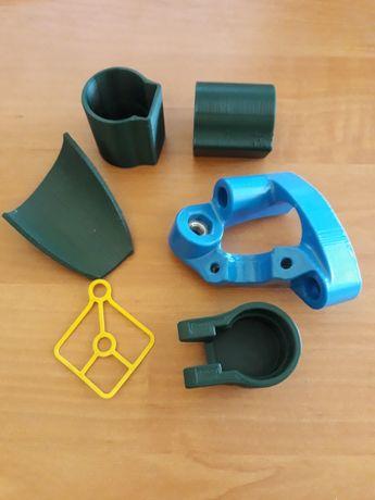 Чертежи, модели, 3D-печать, фрезеровка ЧПУ.