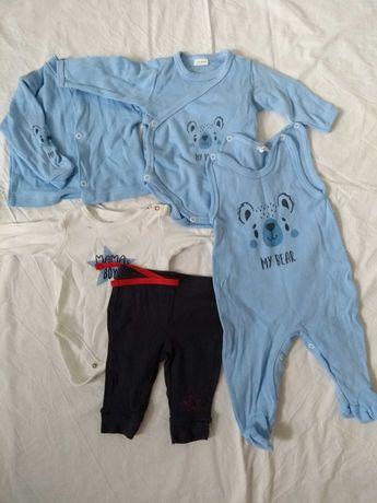 Ubranka dla niemowlaka 56-62 - duża wyprawka