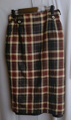 Винтажная ретро юбка миди карандаш
