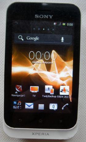 Sony Xperia TIPO 4GB ST21i simlock Orange, sprawny