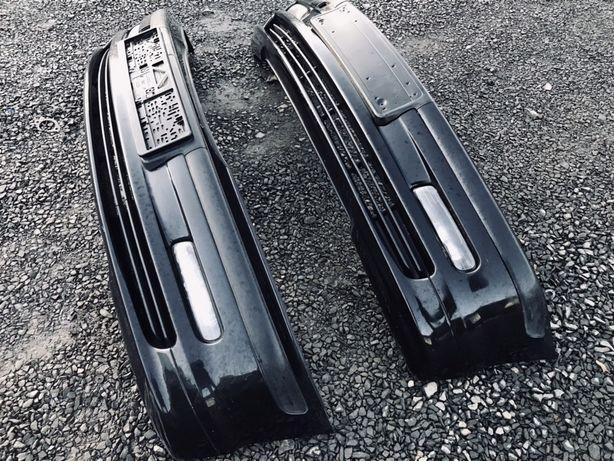Черный Бампер BMW E46 Дорестайл Чёрный Cosmos БМВ Е46 Дорест Sapphire