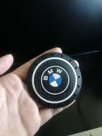 Emblema BMW para Suporte de Copos