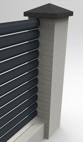 SEZONOWA PROMOCJA Sztachety metalowe-różne kolory / wymiar / wzory