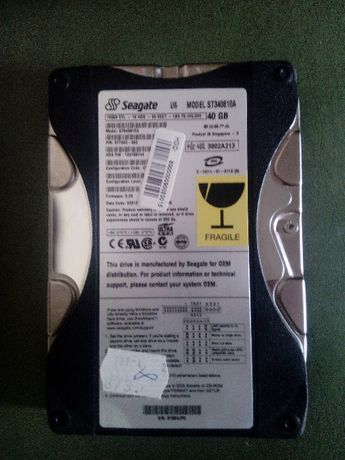 Disco Rigido (HardDrive) Seagate ST340810A