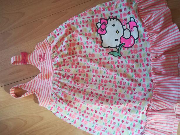Mega sukienka hello Kitty hm