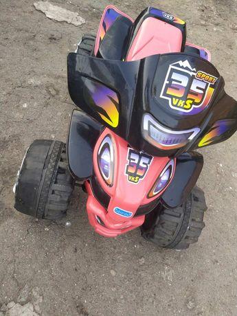 Детский електро квадроцикл
