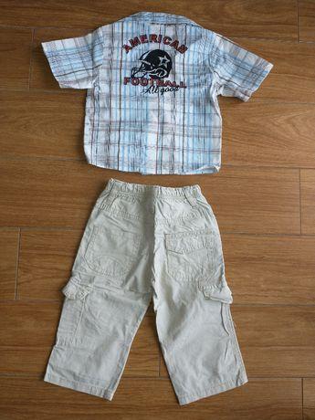 Komplet dla chłopca elegancki rozmiar 80 - 86