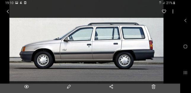Запчастини Opel кадет