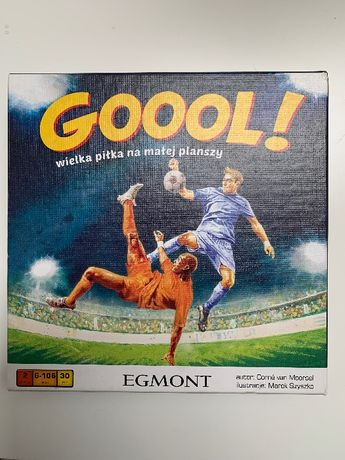 Goool! - Gra piłkarska dla chłopca lat 6+