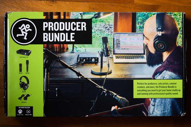 Mackie Producer Bundle (Kit Produção Musical/Podcast) Novo