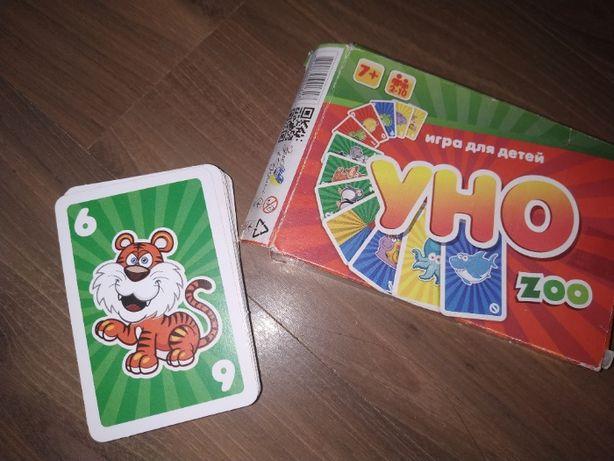 Настольная игра Uno Zoo Новая