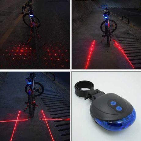 Luz Led de Aviso de Segurança Lâmpada Traseira para Ciclismo