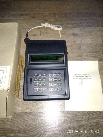 калькулятор Электроника мкш 2