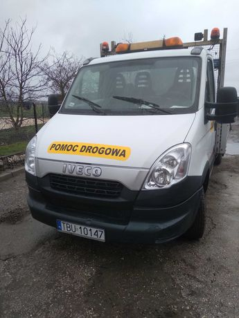 Iveco Daily 35c15,2012r,3.0 hpi euro 5, bliźniak,pomoc drogowa laweta
