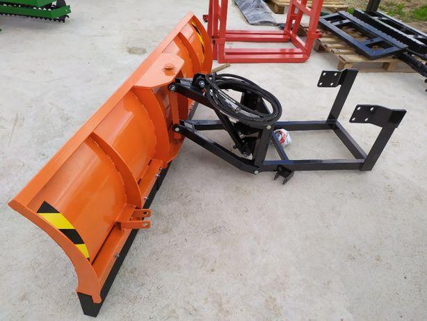 Super Oferta Pług Śnieżny Kompletny z mocowanie do traktorów . Dostawa