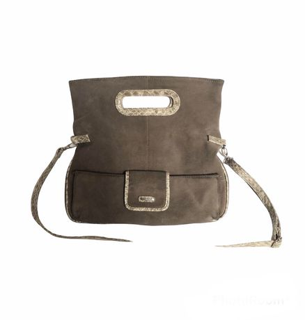 замшевая сумка бренда carpisa