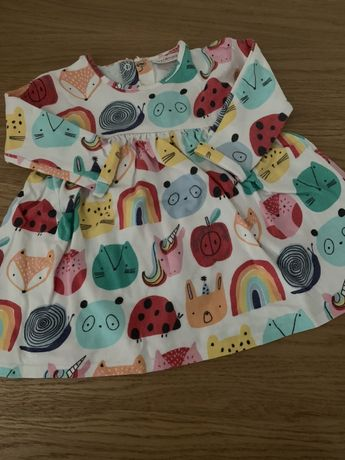 Ubranka dla dziewczynki Zara Next HM 3-6 miesięcy wysylka GRATIS