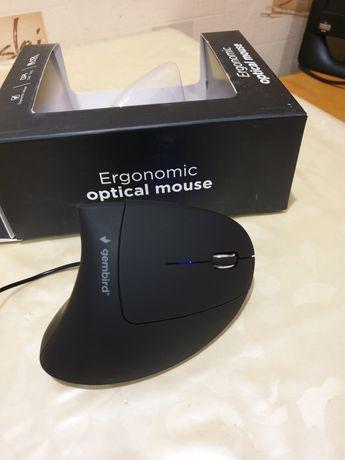 Мышь вертикальная Gembird mus-ergo-01