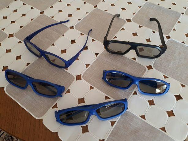 Sprzedam okulary 3d do telewizora z funkcją 3d