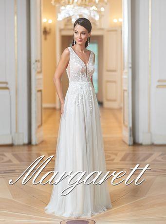 Suknia Ślubna Margarett 36/38 do skrócenia