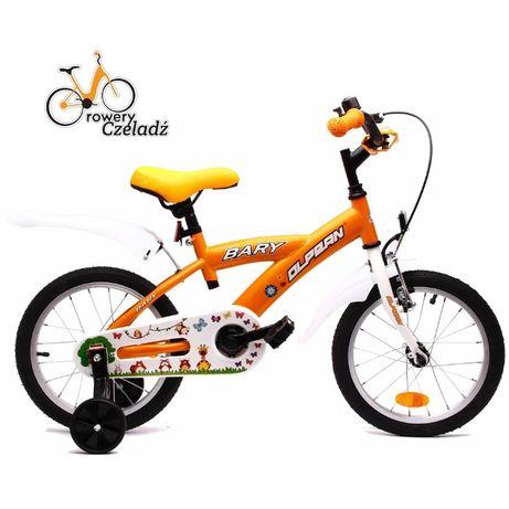 """OLPRAN Bary rower dziecięcy 14"""" Pomarańcz"""
