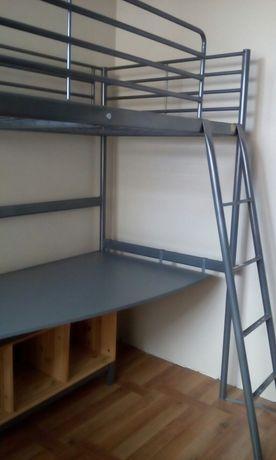 Łóżko piętrowe metalowe dł.205cm. x 95cm