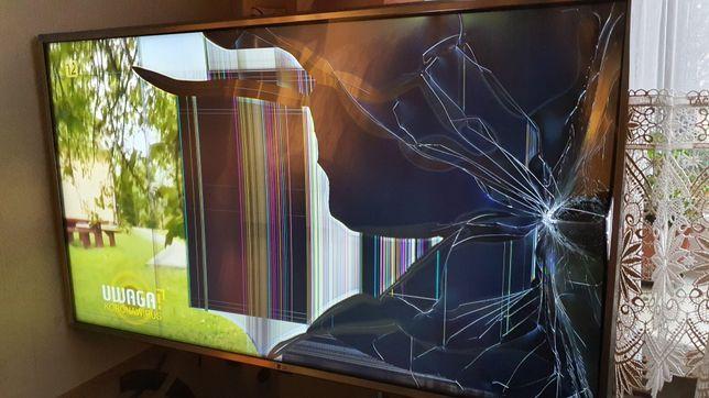 Telewizor LG UK6950PLB - uszkodzony