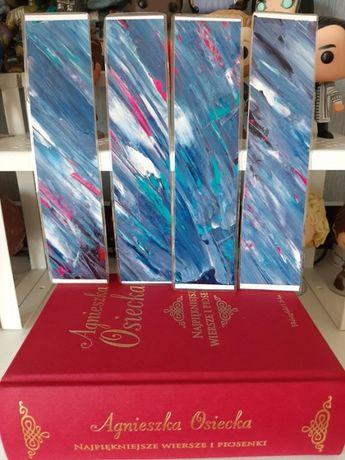 Zakładka do książek ręcznie malowana zakładki handmade