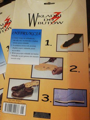 Masujące wkładki  lecznicze do butów