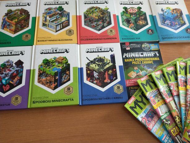 Sprzedam podręczniki Minecraft